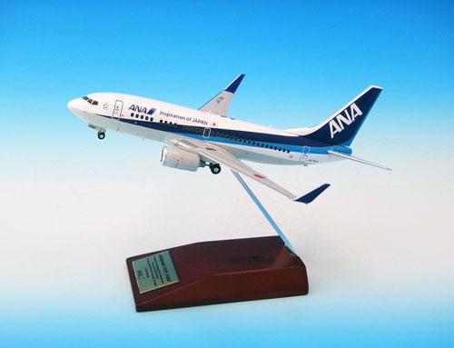 1/200 B737-700 JA17AN 木製台座[全日空商事]《取り寄せ※暫定》