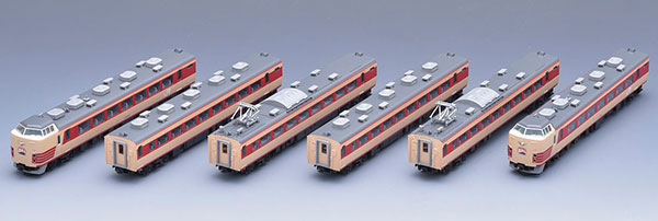 98601 JR 189系電車(M51編成・復活国鉄色)セット(6両)(再販)[TOMIX]【送料無料】《10月予約》