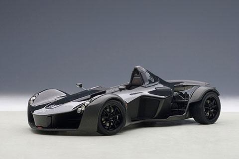 1/18 モデルカー (オートアート・コンポジットモデル) BAC モノ (メタリック・ブラック)[オートアート]《取り寄せ※暫定》