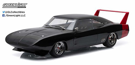 1/18 Artisan Collection - 1969 Dodge Charger Daytona Custom - Black with Red Rear Wing[グリーンライト]《取り寄せ※暫定》