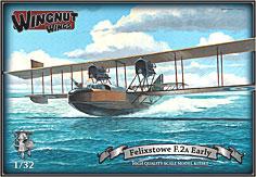 1/32 英双発哨戒飛行艇 フェリックストウ F.2a初期型 プラモデル[ウィングナット・ウィングス]【送料無料】《在庫切れ》