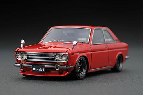 【ついに再販開始!】 1/43 Datsun Datsun Bluebird Coupe (KP510) (KP510) Bluebird Red[イグニッションモデル]《在庫切れ》, 爆安!家電のでん太郎:d49ffb4c --- kventurepartners.sakura.ne.jp