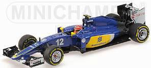 1/43 ザウバー F1チーム フェラーリ C34 F.ナスル 2015[ミニチャンプス/ポールズ・モデル・アート]《取り寄せ※暫定》