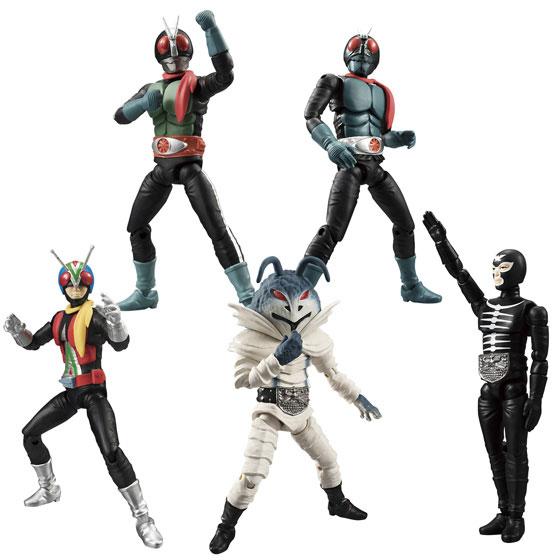 SHODO Kamen Rider VS2 (Versus) 10Pack BOX (CANDY TOY)(Released)(SHODO 仮面ライダーVS(ヴァーサス)2 10個入りBOX(食玩))