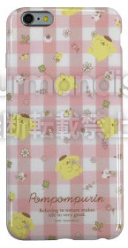 Sanrio - iPhone 6s Plus/6 Plus Soft Jacket: Pom Pom Purin (SAN-540A)(Released)(サンリオ iPhone6s Plus/6 Plus対応ソフトジャケット ポムポムプリン(SAN-540A))