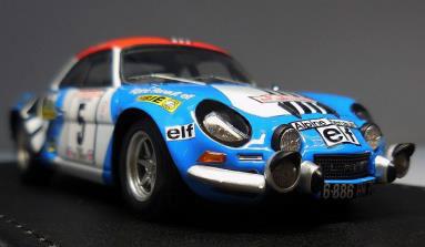 1/43 Alpine Renault A110 1800 (#5) 1973 Tour de Corse[ヘッドライナー]《取り寄せ※暫定》