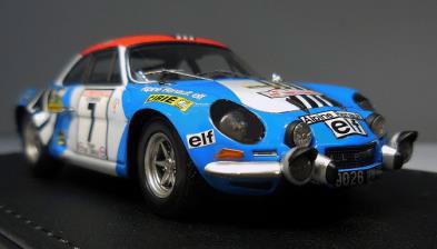 1/43 Alpine Renault A110 1800 (#7) 1973 Tour de Corse[ヘッドライナー]《取り寄せ※暫定》