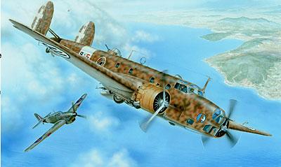 1/48 伊・フィアットBR.20高速爆撃機 プラモデル(再販)[スペシャルホビー]《取り寄せ※暫定》