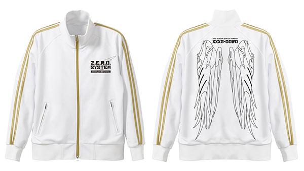 新機動戦記ガンダムW ウイングガンダムゼロ ジャージ/ホワイト×ゴールド-XL(再販)[コスパ]《02月予約》