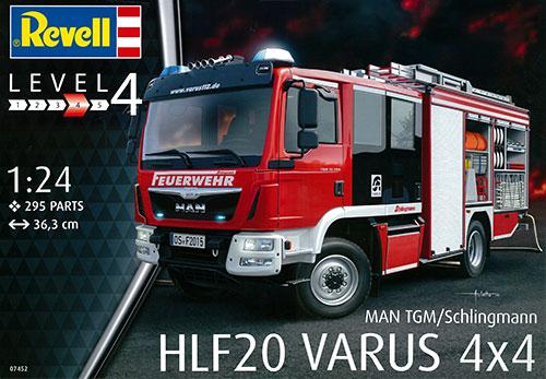 1/24 シュリングマン HLF 20 VARUS 4×4 プラモデル[ドイツレベル]《取り寄せ※暫定》