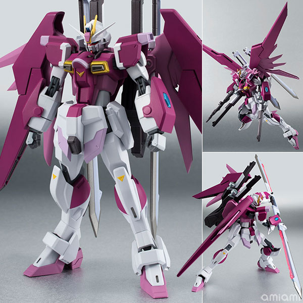 """Robot Spirits -SIDE MS- Destiny Impulse (First Release Limited Package) """"Mobile Suit Gundam SEED Destiny MSV""""(Released)(ROBOT魂 〈SIDE MS〉 デスティニーインパルス(初回限定パッケージ) 『機動戦士ガンダムSEED DESTINY MSV』)"""