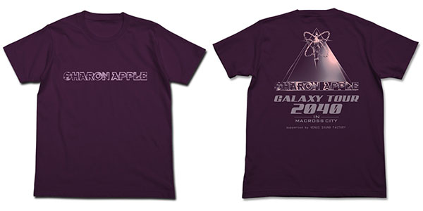 Macross plus Sharon apple T-shirt / mat purple -XL (resale) [cospa] << out of stock >>