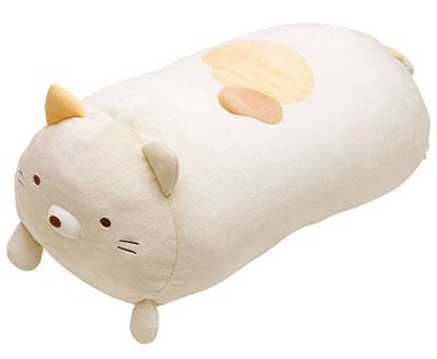 Sumikko Gurashi - Super Mo-chiMochi Hugging Pillow: Neko(Released)(すみっコぐらし スーパーもーちもち抱きまくら ねこ)
