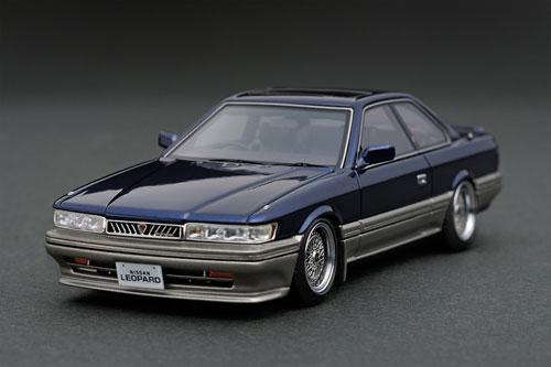新しい季節 1/43 Nissan Leopard (F31) 3.0 Nissan Ultima 3.0 (F31) 3.0 Blue[イグニッションモデル]《在庫切れ》, 小野市:57faf3bb --- bungsu.net