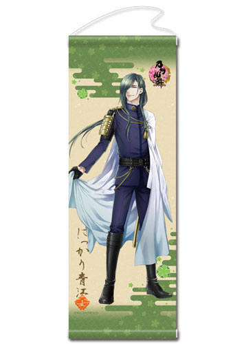 Touken Ranbu Online - Wall Scroll 24: Nikkari Aoe(Released)(刀剣乱舞-ONLINE- タペストリー24:にっかり青江)