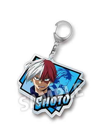My Hero Academia - Acrylic Big Keychain: Shoto Todoroki(Released)(僕のヒーローアカデミア アクリルビックキーホルダー 轟焦凍)
