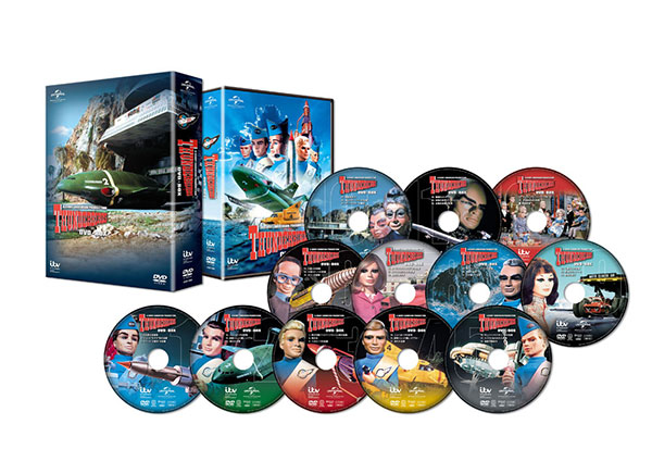 DVD サンダーバード DVD-BOX[NBC]《取り寄せ※暫定》