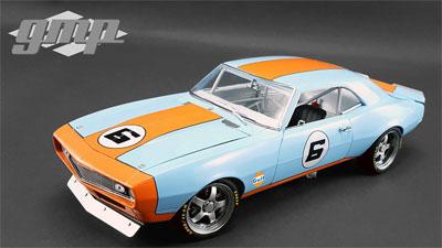1/18 1968 Chevy Camaro - #6 Gulf Oil Street Fighter[gmp]【送料無料】《取り寄せ※暫定》