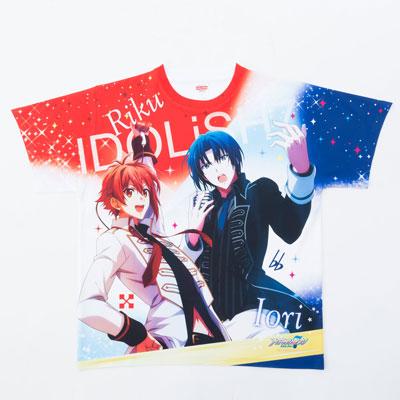 Idolish 7 - Unit Visual T-shirt A: Riku & Iori(Back-order)(アイドリッシュセブン ユニットビジュアルTシャツ A:陸&一織)