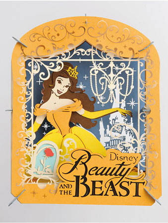 Disney - PAPER THEATER Beauty and the Beast(Released)(ディズニー PAPER THEATER 美女と野獣)