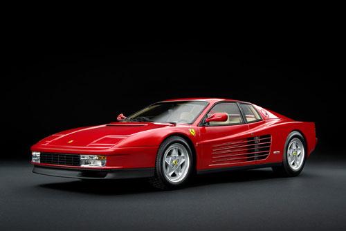 1/18 フェラーリ テスタロッサ 1989 レッド(スクーデリアフェラーリロゴ入り)[京商]【送料無料】《取り寄せ※暫定》