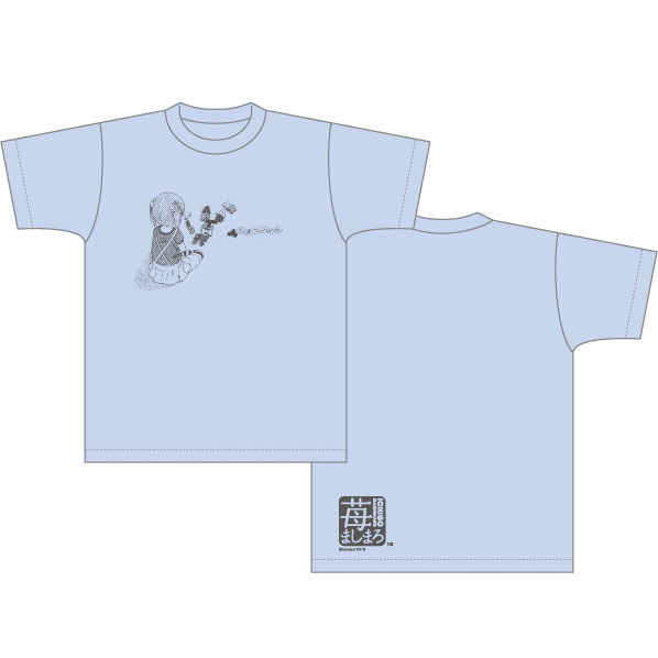 『苺ましまろ』 Tシャツ 美羽柄 S(Strawberry Marshmallow - T-shirt Miu S(Released))