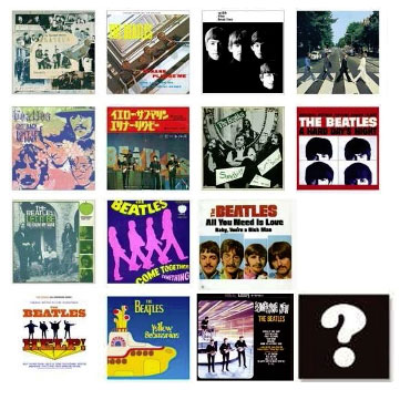The Beatles - Miniature Jacket Collection 15Pack BOX(Released)(ザ・ビートルズ ミニチュアジャケットコレクション 15個入りBOX)