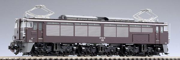 HO-158 JR EF63形電気機関車(2次形・茶色)[TOMIX]【送料無料】《取り寄せ※暫定》