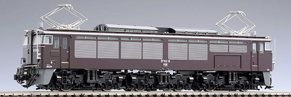 HO-175 JR EF63形電気機関車(2次形・茶色・プレステージモデル)[TOMIX]【送料無料】《取り寄せ※暫定》