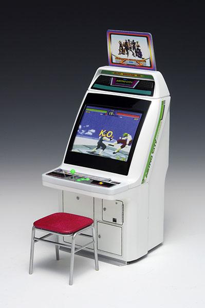 Memorial Game Collection 1/12 Astro City Arcade Game Machine [SEGA Titles] Plastic Model(Released)(メモリアル・ゲーム・コレクション 1/12 アストロシティ筐体[セガタイトルズ] プラモデル)