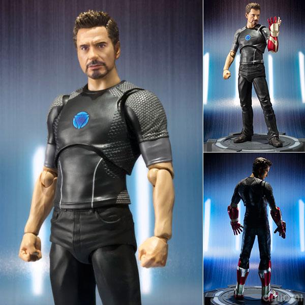 "[Bonus] S.H. Figuarts - Tony Stark ""Iron Man""(Released)(【特典】S.H.フィギュアーツ トニー・スターク 『アイアンマン3』)"