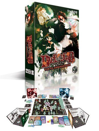 Board Game - Dice of the Dead TOKYO ARMAGEDDON(Back-order)(ボードゲーム ダイス・オブ・ザ・デッド TOKYO ARMAGEDDON)