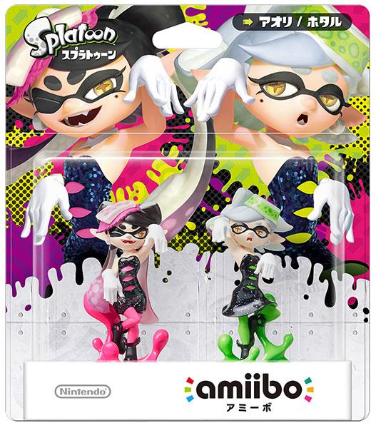 amiibo - Squid Sisters Set [Callie / Marie] (Splatoon Series)(Released)(amiibo シオカラーズセット【アオリ/ホタル】 (スプラトゥーンシリーズ))