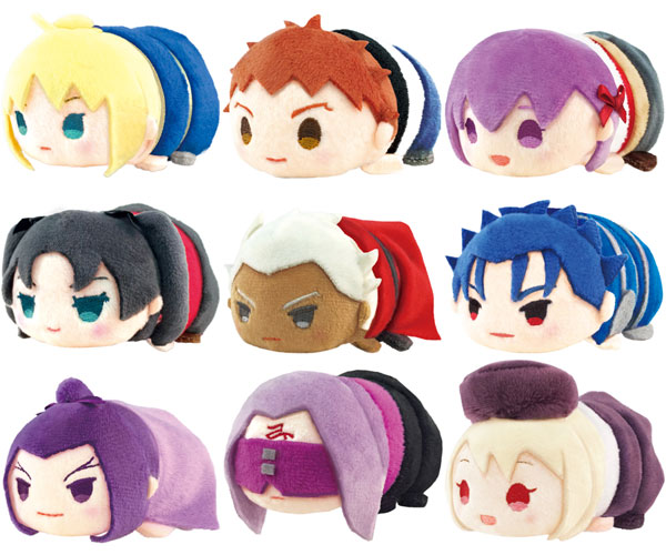 MochiMochi Mascot - Fate/stay night [Unlimited Blade Works] 9Pack BOX(Released)(もちもちマスコット Fate/stay night[Unlimited Blade Works] 9個入りBOX)