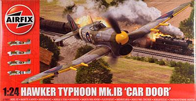 1/24 ホーカー タイフーン Mk.IB (カー ドア)[エアフィックス]《取り寄せ※暫定》