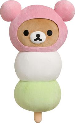 MR57301 Rilakkuma - Super Mo-chiMochi Dango Hugging Pillow(Released)(MR57301 リラックマ スーパーもーちもちだんご抱きまくら)