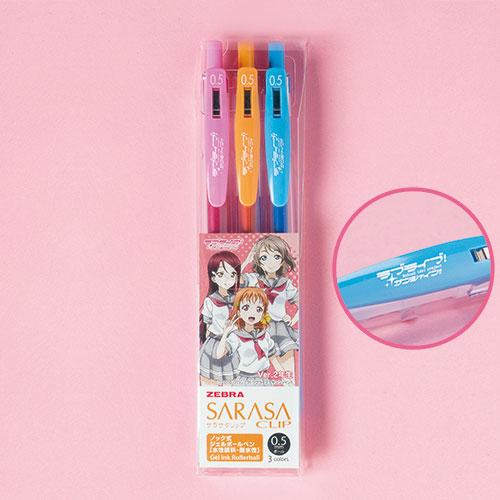 """Love Live! Sunshine!!"" Sarasa Clip 0.5 Color Ballpoint Pen: Ver.2nd Years(Back-order)(『ラブライブ!サンシャイン!!』サラサクリップ0.5 カラーボールペン Ver.2年生)"