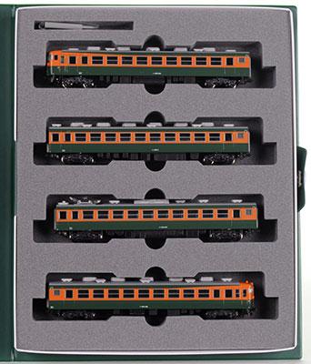 10-1335 165系800番台 飯田線 急行「伊那」 4両セット[KATO]《取り寄せ※暫定》
