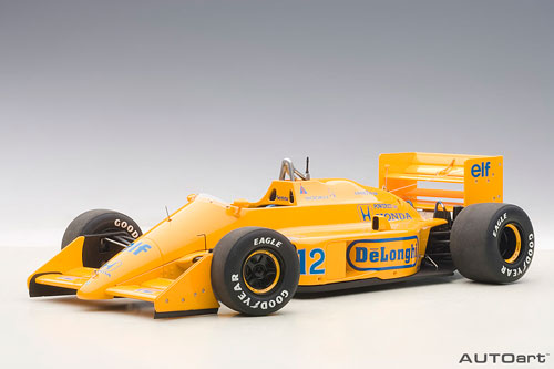 オートアート・コンポジットモデル 1/18 ロータス 99T ホンダ F1 日本GP 1987 #12 A.セナ ロータスロゴ無[オートアート]【送料無料】《取り寄せ※暫定》