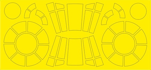 1/144 Airbrush Mask for Falcon (for Bandai)(Back-order)(1/144 ファルコン用エアブラシマスク(バンダイ用))