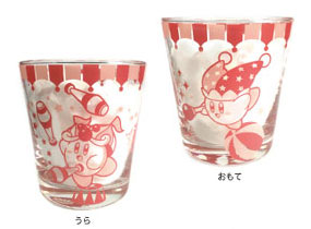 Hoshi no Kirby - Tinkle Circus Glass Cup(Released)(星のカービィ ティンクルサーカス グラス)