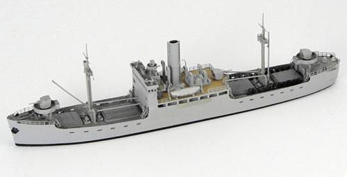 "1/700 Japanese Navy Auxiliary Mine Laying Gunboat ""Shinkyo Maru"" 1942 Resin Kit(Released)(1/700 日本海軍特設砲艦兼敷設艦「新京丸」SINKYOUMARU1942 レジンキット)"