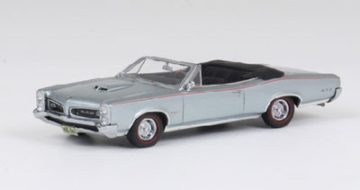 1/43 ポンティアック GTO コンバーチブル 1966 メタリックグレー[ネオ]《取り寄せ※暫定》