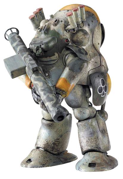 Creator Works Series 1/20 Robot Battle V Model 44 Heavy Armored Costume MK44B Hammerknight Plastic Model(Released)(クリエイターワークスシリーズ 1/20 ロボットバトルV 44型重装甲戦闘服 MK44B型 ハンマーナイト プラモデル)