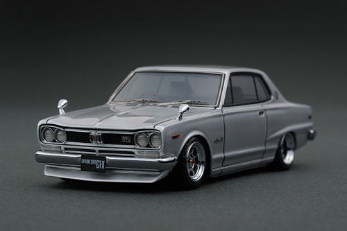 爆売り! 1/43 Nissan Skyline 1/43 Silver 2000 GT-X (KGC10) Silver Skyline ※Hayashi-Wheel[イグニッションモデル]《在庫切れ》, アルベルワインショップ:e3717b9d --- blacktieclassic.com.au