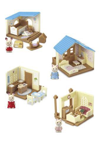 Sylvanian Families Mini Series 8Pack BOX (CANDY TOY)(Released)(シルバニアファミリー ミニシリーズ 8個入りBOX(食玩))