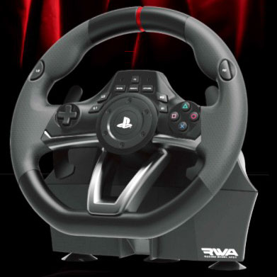 Racing Wheel Apex for PlayStation4/3/PC[ホリ]《取り寄せ※暫定》