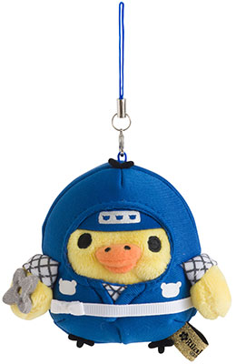 Rilakkuma - Kiiroitori Burasage Plush (Ninja)(Released)(リラックマ キイロイトリぶらさげぬいぐるみ (忍者))