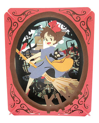 PAPER THEATER - Kiki's Delivery Service PT-049 Koriko no Omoide(Released)(ペーパーシアター 魔女の宅急便 PT-049 コリコの思い出)