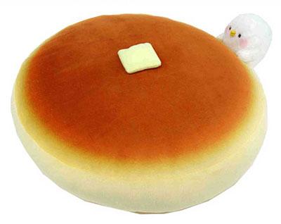 Kanahei's Small Animals - Pisuke Pancake Cushion(Back-order)(カナヘイの小動物 ピスケ ホットケーキクッション)